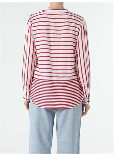 Colin's CL1054138_Q1.V2_RED Regular Fit Kadın Bluz U.Kol Kırmızı